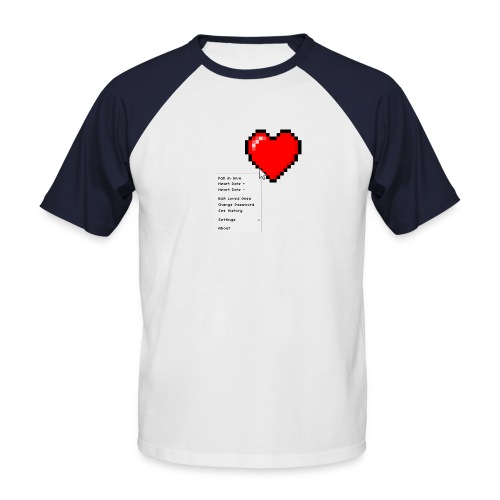 Options of the heart - Kortærmet herre-baseballshirt