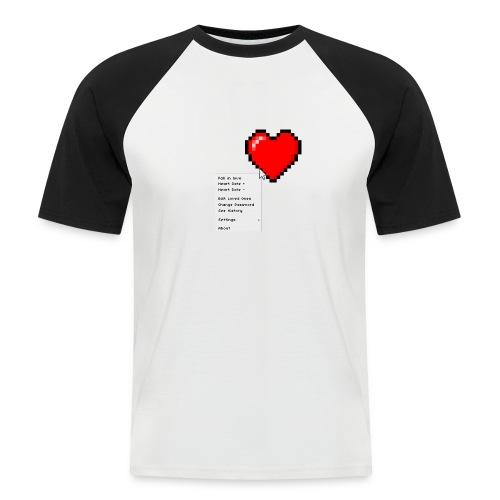 Options of the heart - Kortærmet herre-baseballshirt