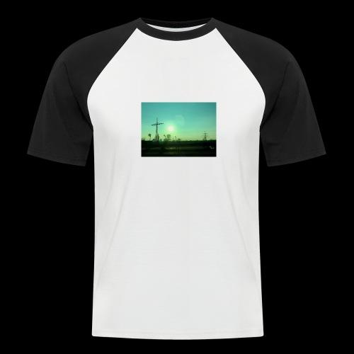 pollution - Mannen baseballshirt korte mouw
