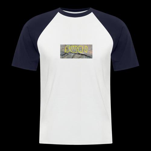 swai stoned yellow - Männer Baseball-T-Shirt