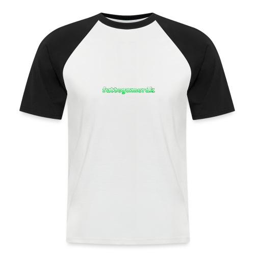 futtegamerdk trøjer badge og covers - Kortærmet herre-baseballshirt