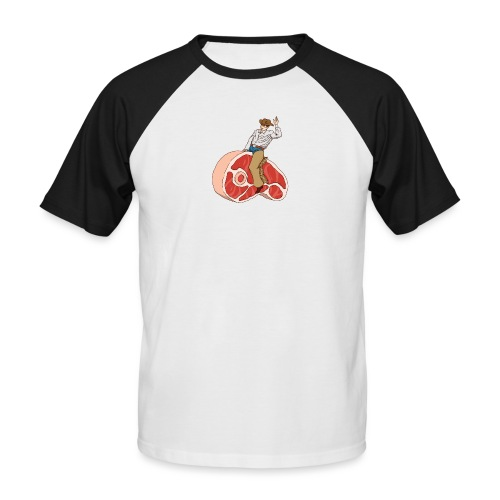 STEAK RODEO - Koszulka bejsbolowa męska