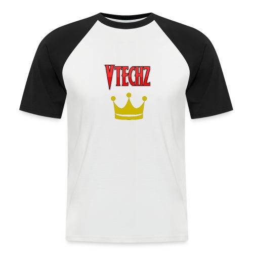 Vtechz King - Men's Baseball T-Shirt