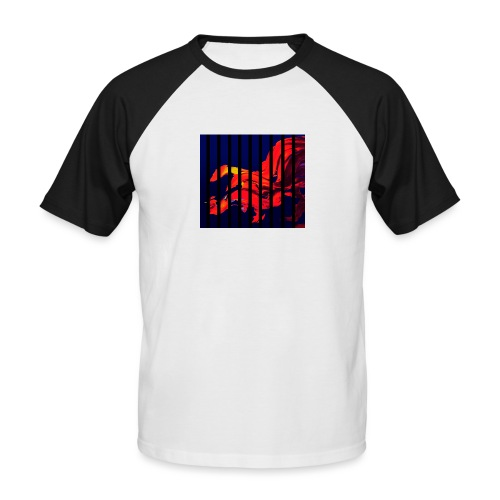 B 1 - Men's Baseball T-Shirt