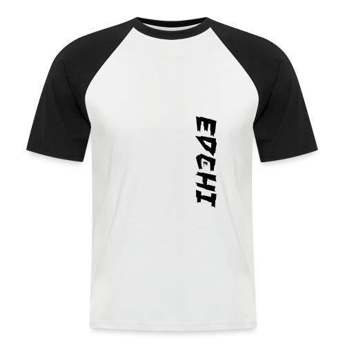 Edchi - Kortærmet herre-baseballshirt