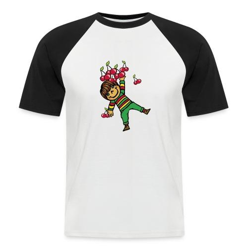 08 kinder kapuzenpullover hinten - Männer Baseball-T-Shirt