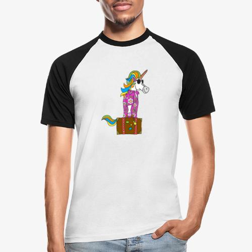 Unicorn trip - T-shirt baseball manches courtes Homme