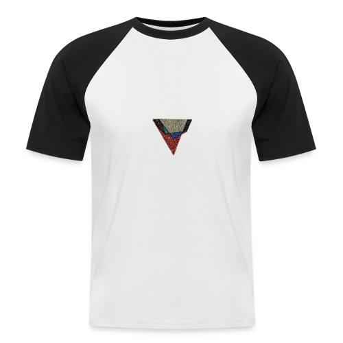 Flip Side Graphite Logo - Men's Baseball T-Shirt