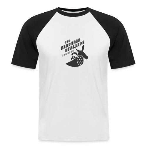 stallion badges - Men's Baseball T-Shirt