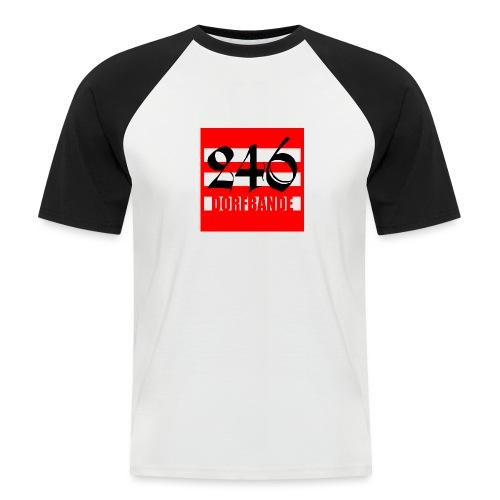 246 Dorfbande - Männer Baseball-T-Shirt