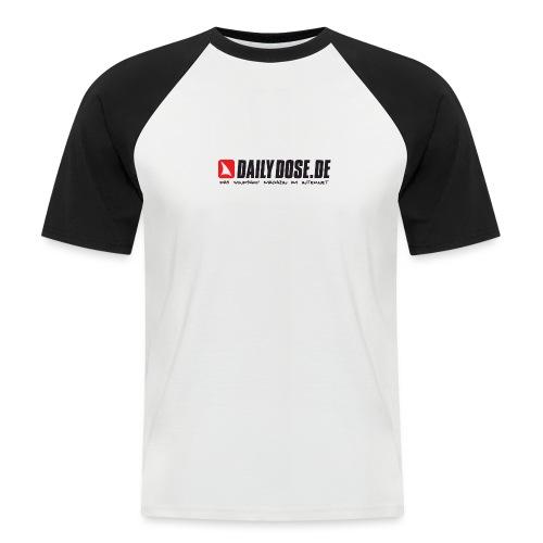 DAILYDOSE.DE (black) - Männer Baseball-T-Shirt