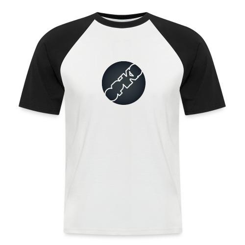 opiko Logo S/W - Männer Baseball-T-Shirt