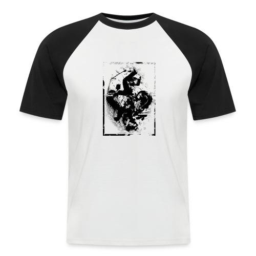 abstract4a - Men's Baseball T-Shirt