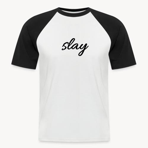 SLAY - Miesten lyhythihainen baseballpaita