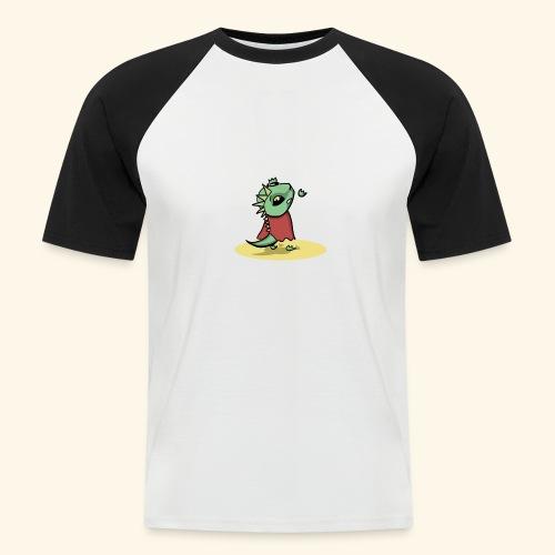 Dragin Needs Help - Mannen baseballshirt korte mouw
