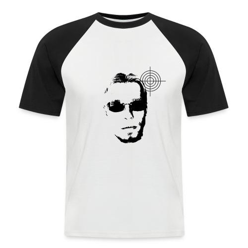 Gangsta Head FK gr - Männer Baseball-T-Shirt