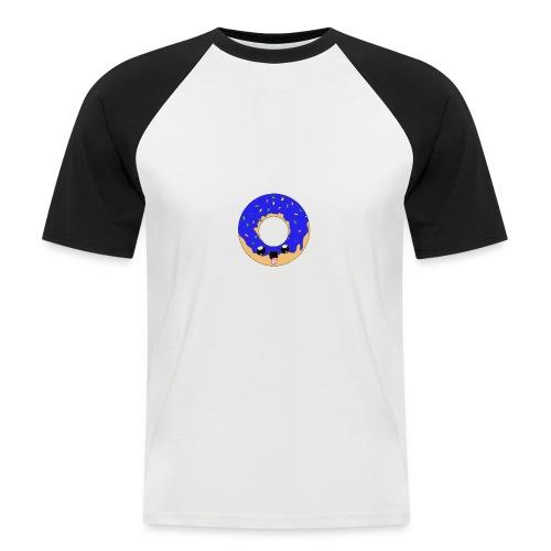 donut22blue - T-shirt baseball manches courtes Homme