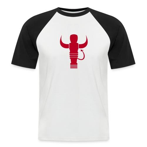 Logo Team Kneipensportler - Männer Baseball-T-Shirt