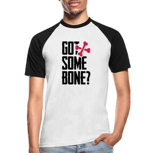 Got some bone? - Miesten lyhythihainen baseballpaita