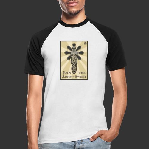 Join the army jpg - Men's Baseball T-Shirt