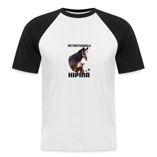 Kipinän t-paita - Miesten lyhythihainen baseballpaita