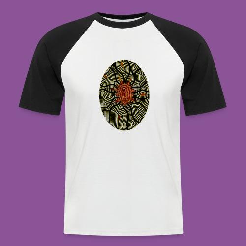 Aura 11 - Männer Baseball-T-Shirt