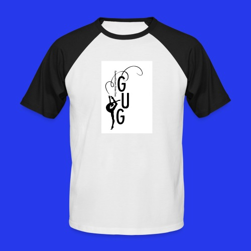 GUG logo - Männer Baseball-T-Shirt
