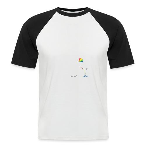 Dru - bunt pinkeln - Männer Baseball-T-Shirt