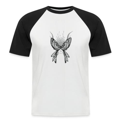 Nachtfalter - Männer Baseball-T-Shirt