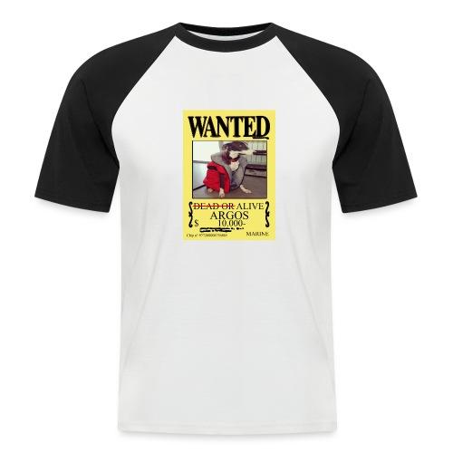 #dóndeestáargos ARGOS ver.wanted - Camiseta béisbol manga corta hombre