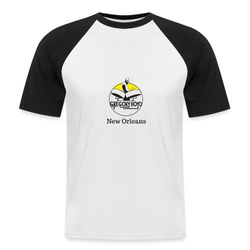 URBAN ISLAND GEAR / NEW ORLEANS STYLE - Kortærmet herre-baseballshirt