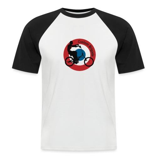 Cocarde Chopper - T-shirt baseball manches courtes Homme