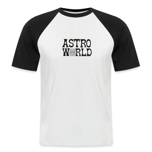 Astro - Camiseta béisbol manga corta hombre