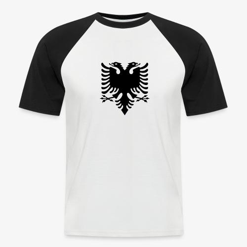 Shqiponja - das Wappen Albaniens - Männer Baseball-T-Shirt