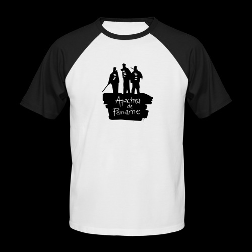 Apaches de Paname - T-shirt baseball manches courtes Homme