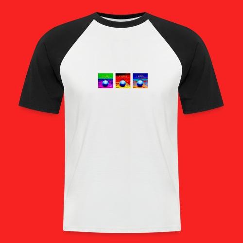 Tripple 4_SURES - Men's Baseball T-Shirt