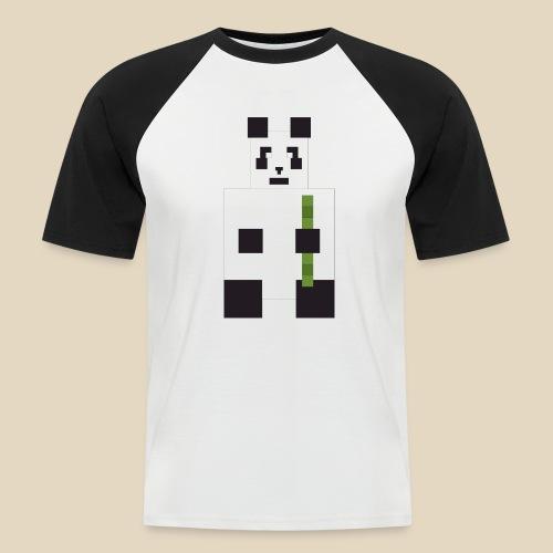 Panda - T-shirt baseball manches courtes Homme