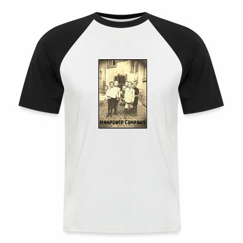 Manpower Company - Männer Baseball-T-Shirt