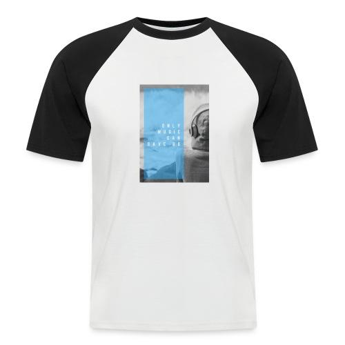 Only Music - Mannen baseballshirt korte mouw