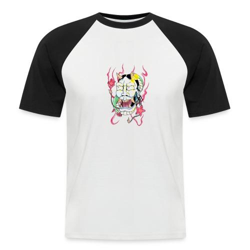 hannya mask - Men's Baseball T-Shirt