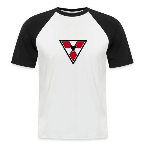 Triangular Badge - Men's Baseball T-Shirt