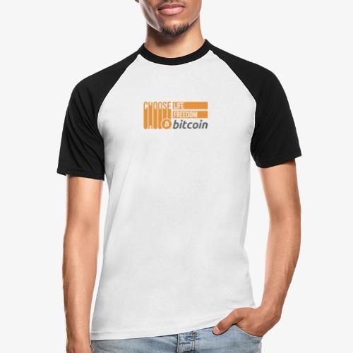 Bitcoin - T-shirt baseball manches courtes Homme