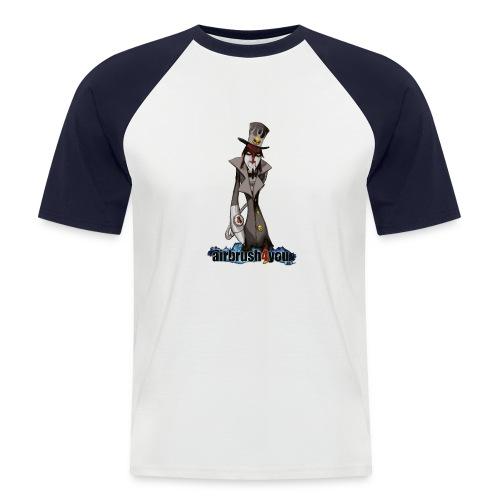 AirbrushDealer - Männer Baseball-T-Shirt