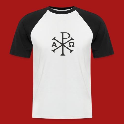 Kompasset-AP - Kortærmet herre-baseballshirt