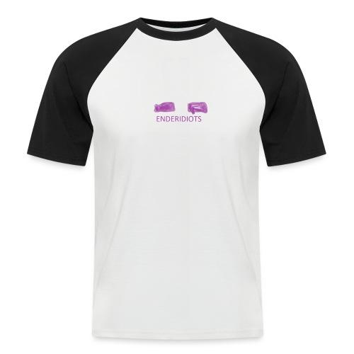 enderproductions enderidiots design - Men's Baseball T-Shirt