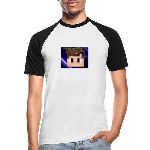xxkyllingxx Nye twitch logo - Kortærmet herre-baseballshirt