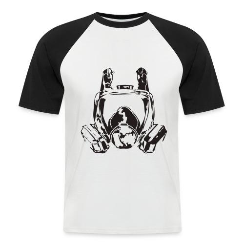 mascara quimica - Camiseta béisbol manga corta hombre
