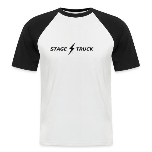 stage truck max300 2d transparent - Men's Baseball T-Shirt