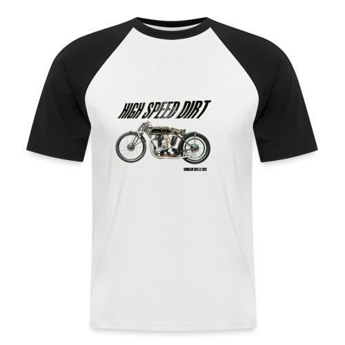 sunbeam 500cc buena - Camiseta béisbol manga corta hombre