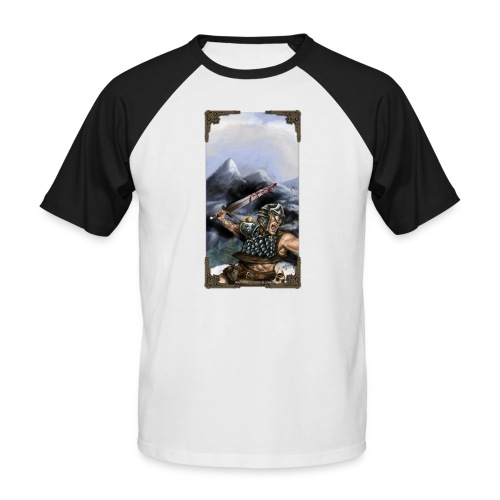 winterfallshirt - Männer Baseball-T-Shirt
